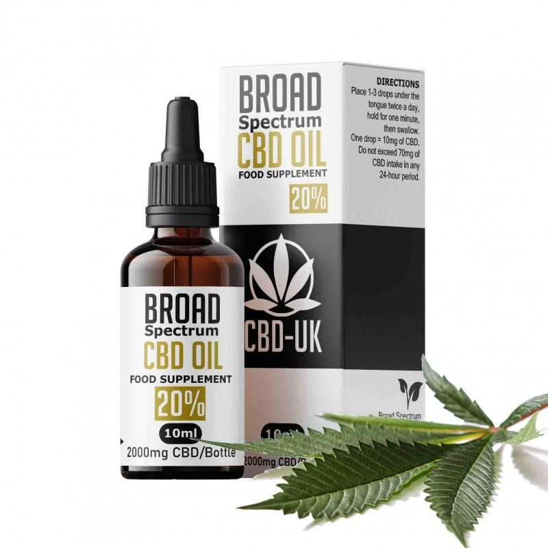 2000mg Broad Spectrum CBD Oil