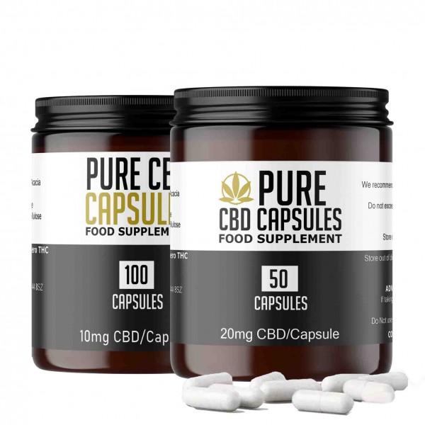 Pure CBD Capsules