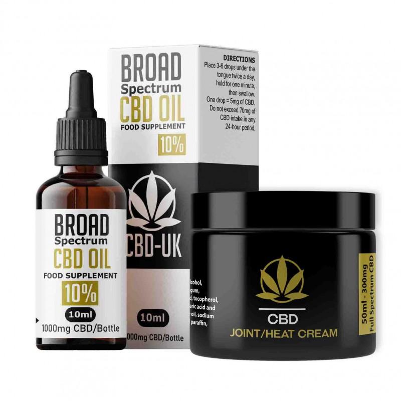 CBD Oil & CBD Heat Cream
