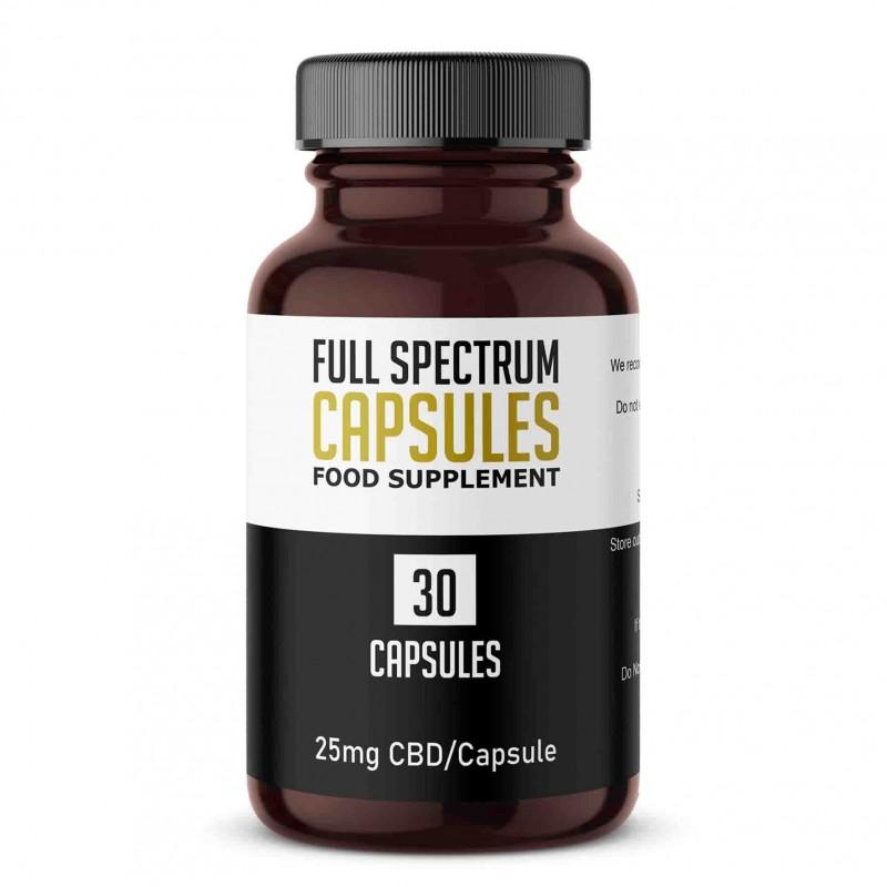 Full Spectrum CBD Gel Capsule