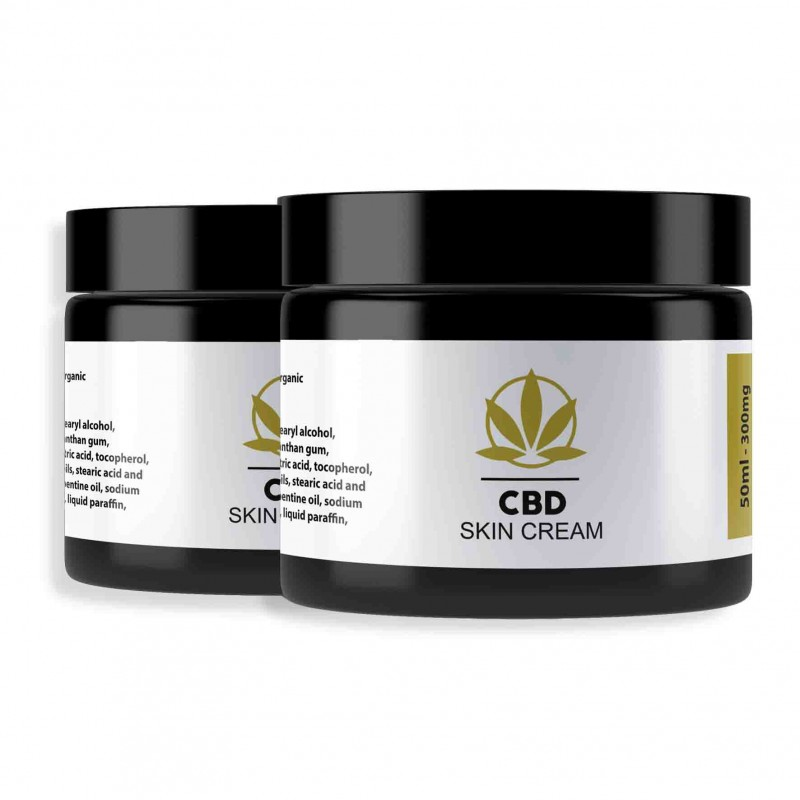 CBD Skin Cream Twin Pack