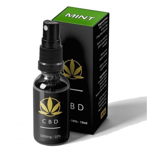 Buy Mint CBD Spray Oil UK