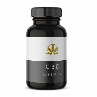 CBD-UK 500mg CBD Capsules
