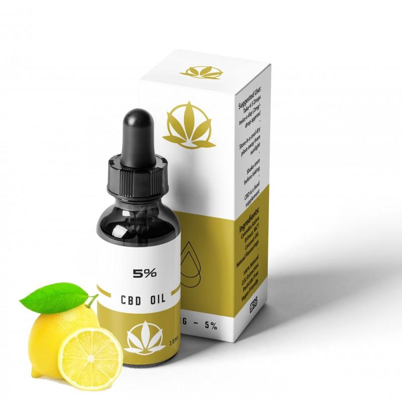 UK CBD Oil Lemon