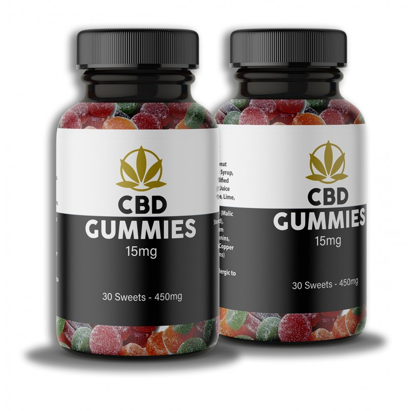 CBD Gummy Sweets UK Twin Pack