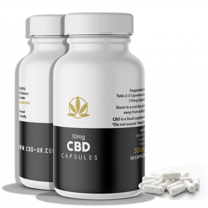 Pure CBD Capsules UK
