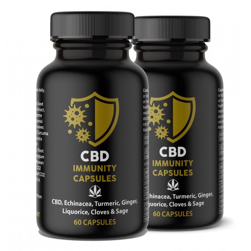 CBD Immunity Capsules Twin Pack