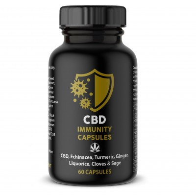 CBD-UK Immunity Capsules