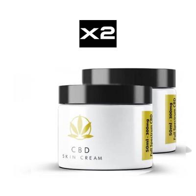 CBD-UK Skin Cream Twin-Pack